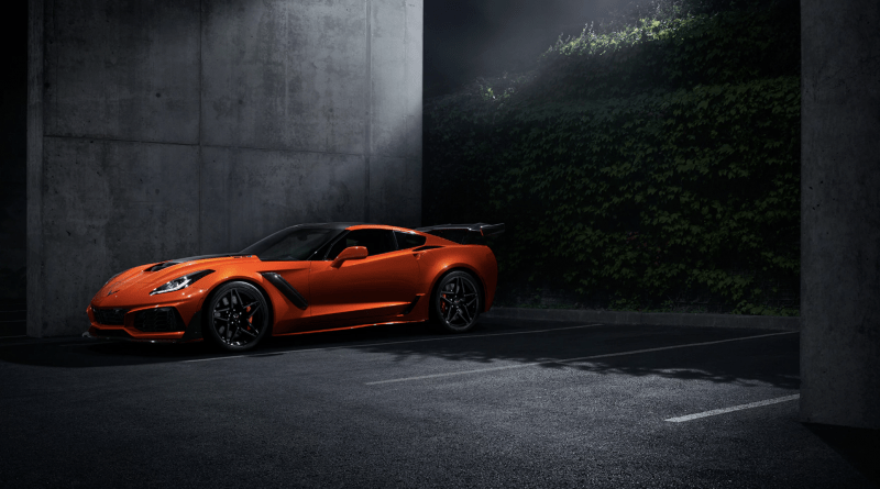 La Chevrolet Corvette ZR1 2019 montre ses crocs !